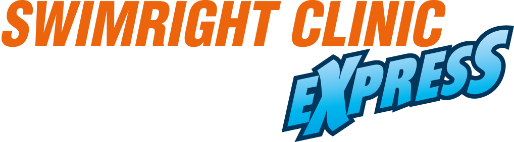 logo swimright clinic express