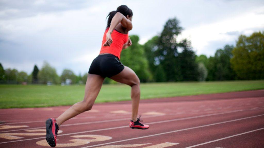 Entrenamiento running en pista